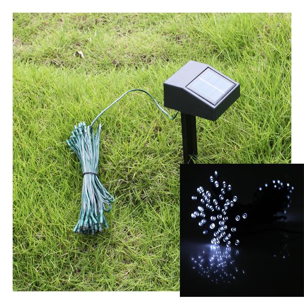 BrainyDeal Solar Christmas Lights String Fairy Lights Outdoor Garden 35ft 60 at Sears.com