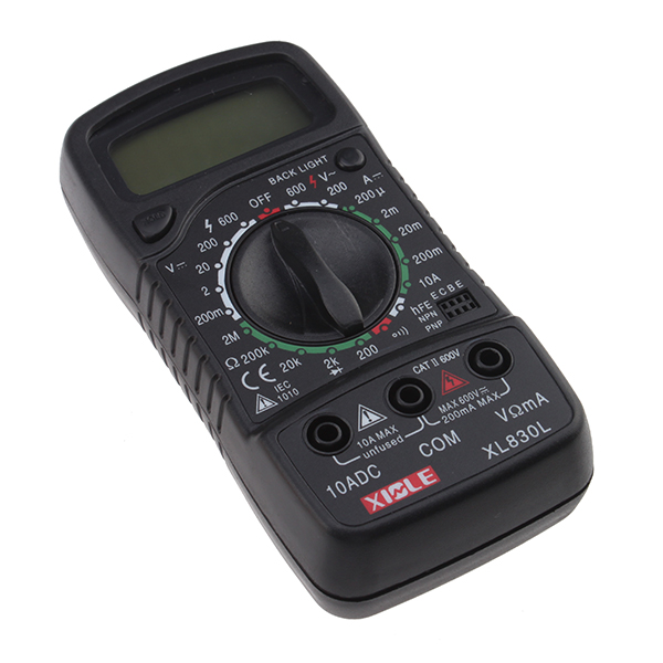 BrainyDeal LCD Digital Multimeter AC/DC Ohm Volt Meter Back Light at Sears.com